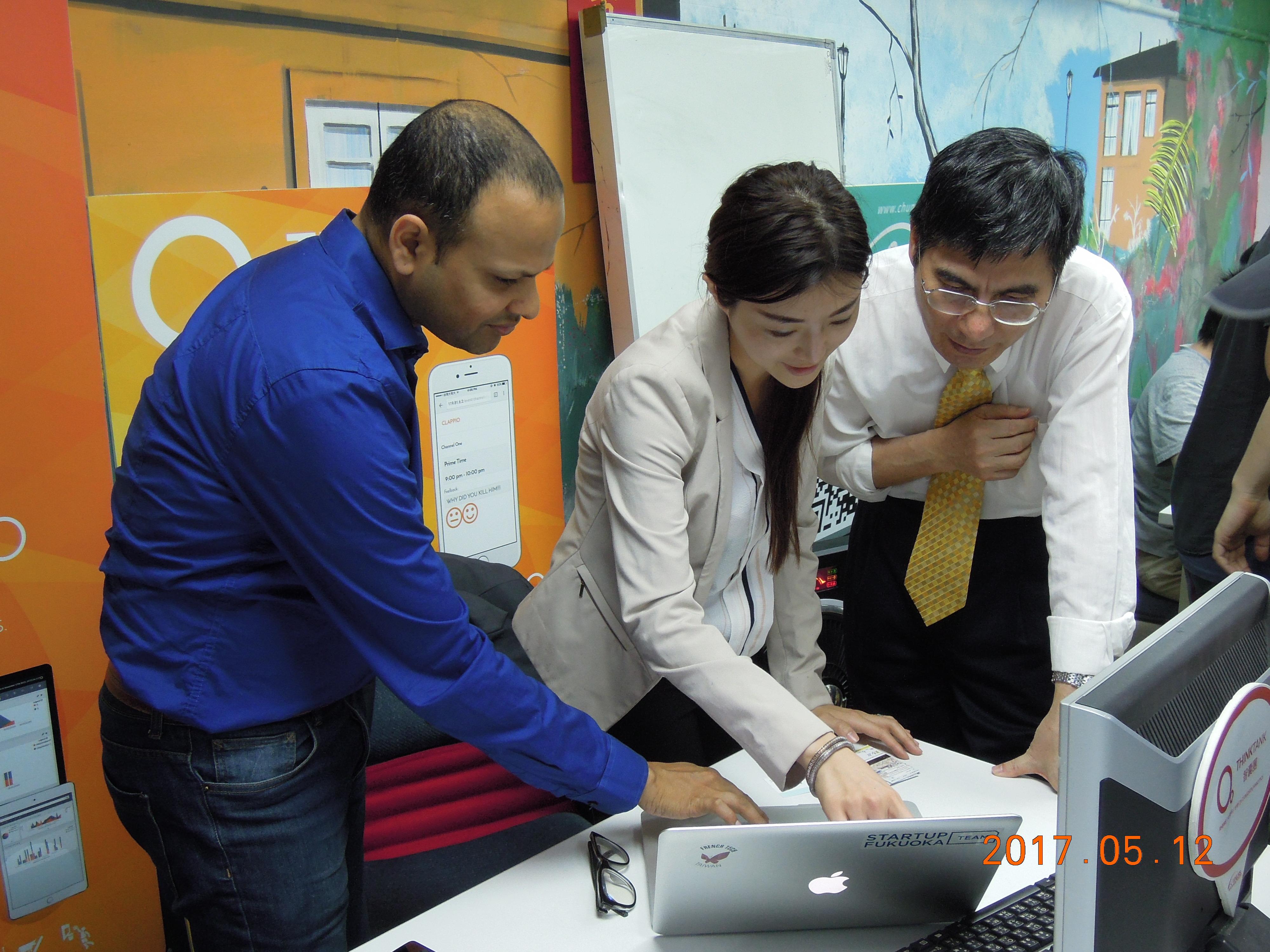 感謝科技部長-陳良基先生來訪智囊團